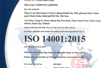 ISO 14001 (Environmental Management System Certificate)